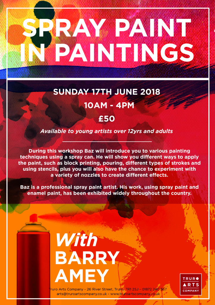 spray paint workshop A4