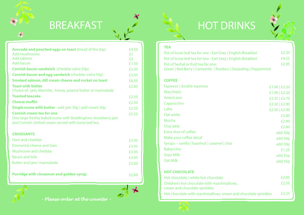 Breakfast Menu 2018 - Revamped2
