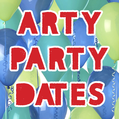 Arty Party Dates Available
