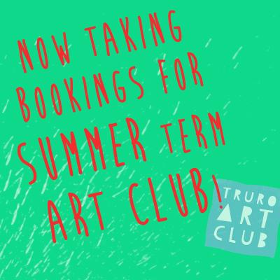 Art club - Book Now!