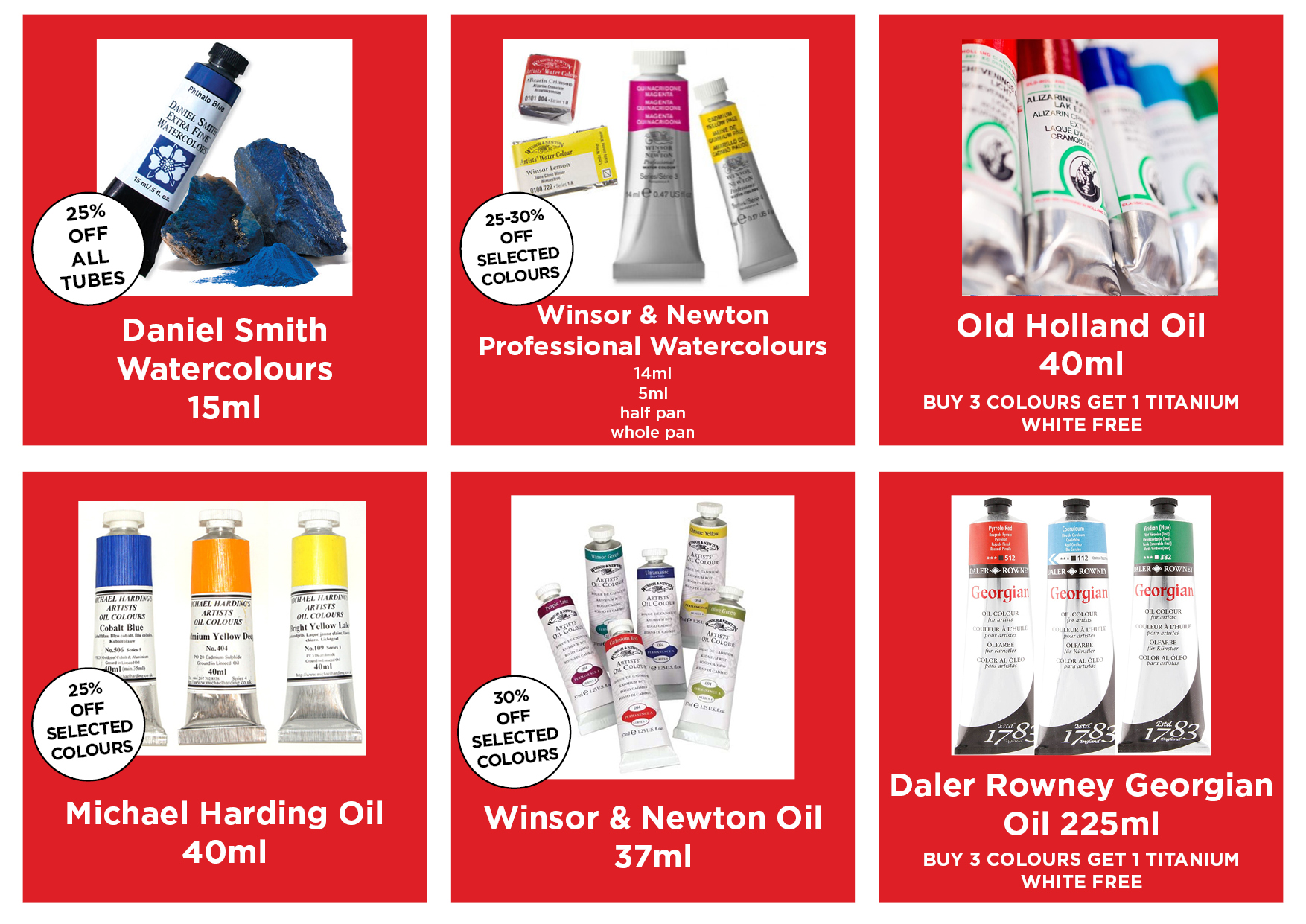 Current Promotions PAINT AND MEDIUMS Dec 17