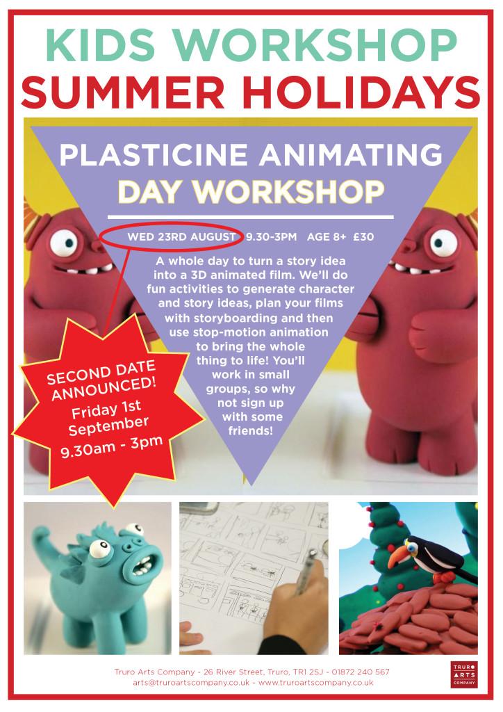 Second date - Animation workshop 1st Sept