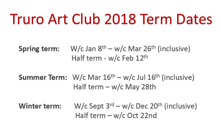 2018 term dates