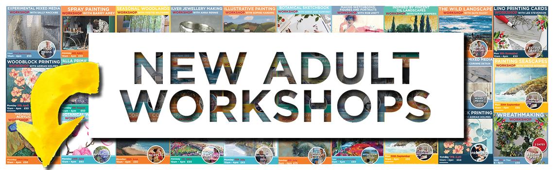 Workshops at Truro Arts