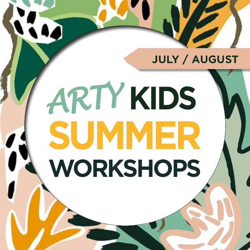 Kids Summer Workshop Line-Up