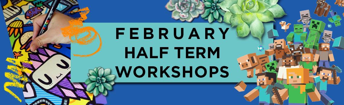 Half Term Kids Workshops!