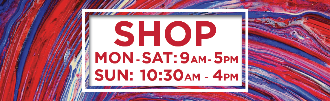 Truro Arts - Shop and Cafe, Opening Hours
